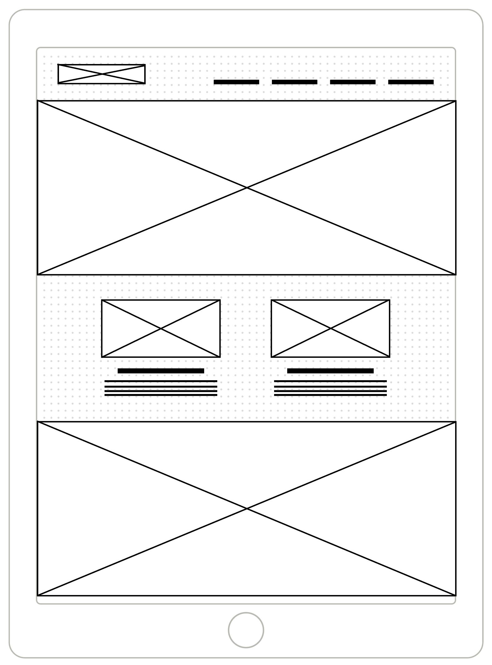 UX Designer: Wireframe