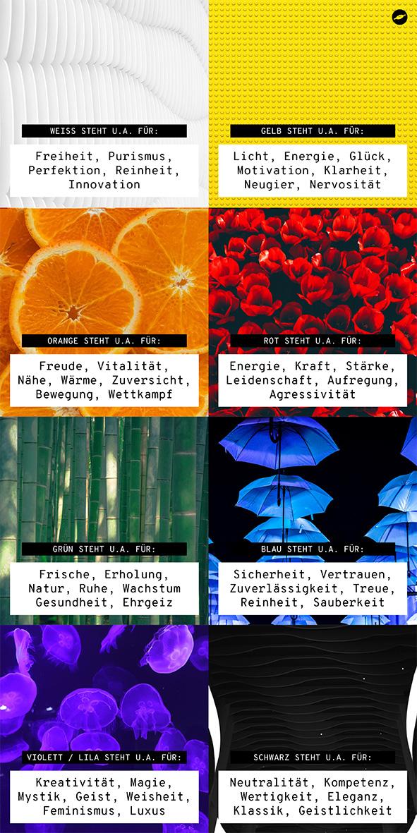 Farben und ihre Symbolik