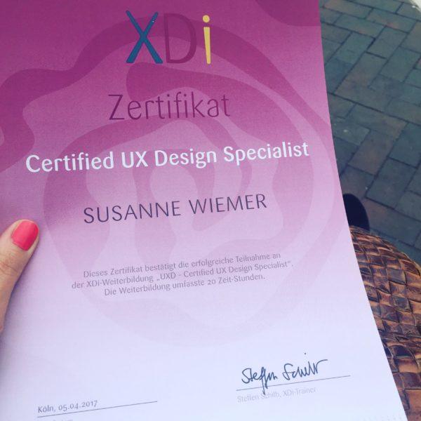 UX Designerin Su Wiemer