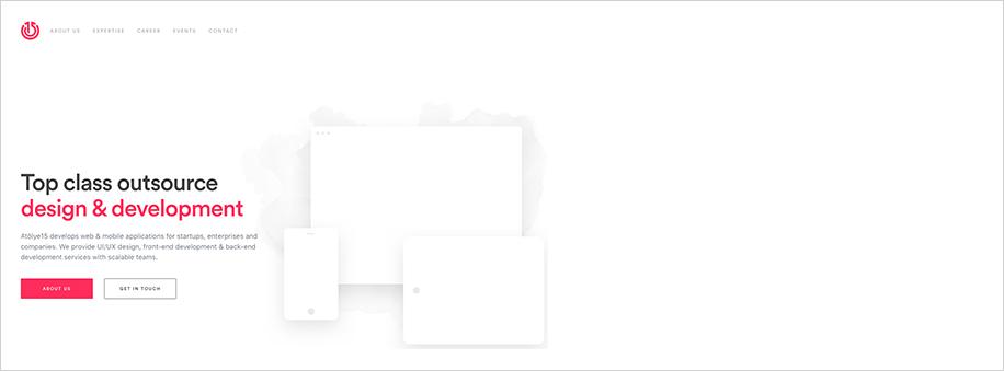 Farbe minimalistisch