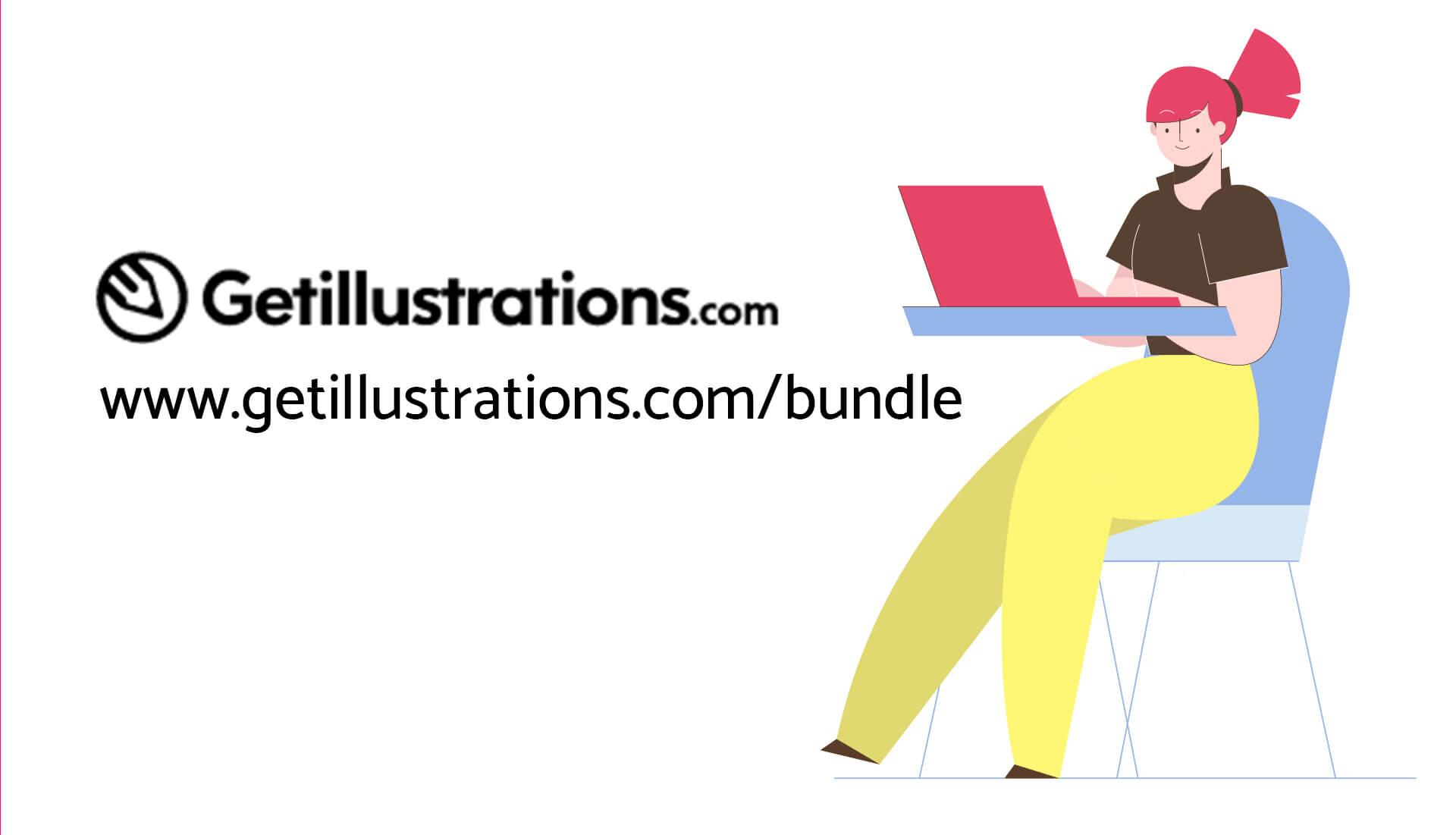'Get Illustrations' aufrufen