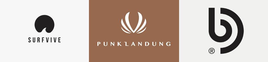Logo-Designs Minimalismus