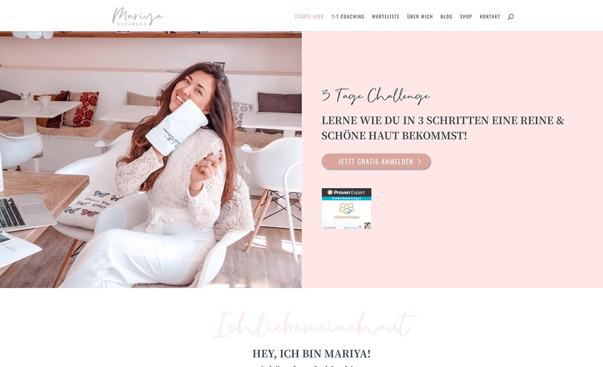 Mariyas Webdesign ansehen