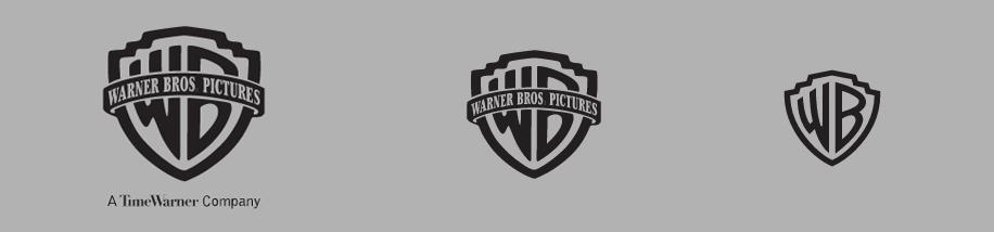 Logo-Varianten Warner Brothers