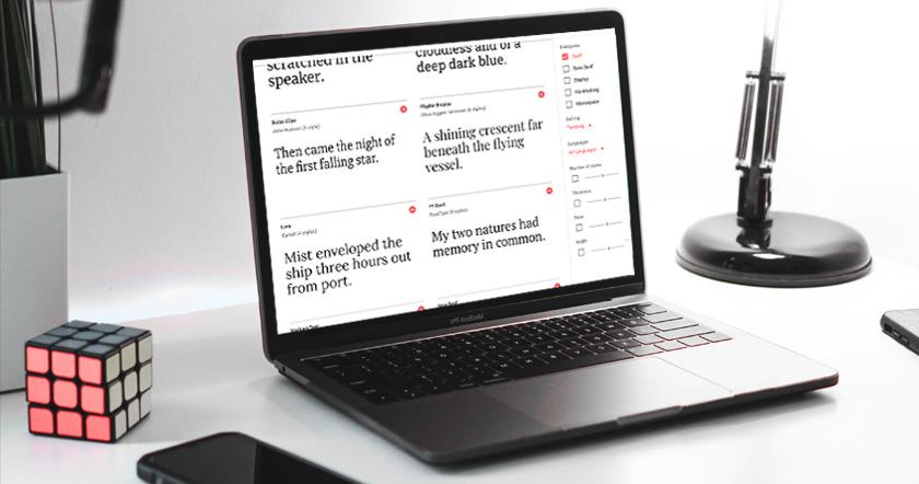 Wie du passende Schriften fürs Web findest & kombinierst