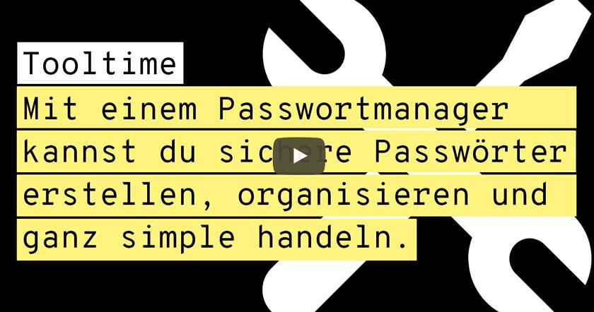 Toolvorstellung Passwortmanager