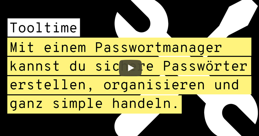 Toolvorstellung Passwortmanager